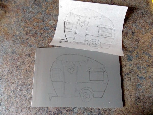 Linocut Block Printing Part 1 - transferring the design onto the block before carving