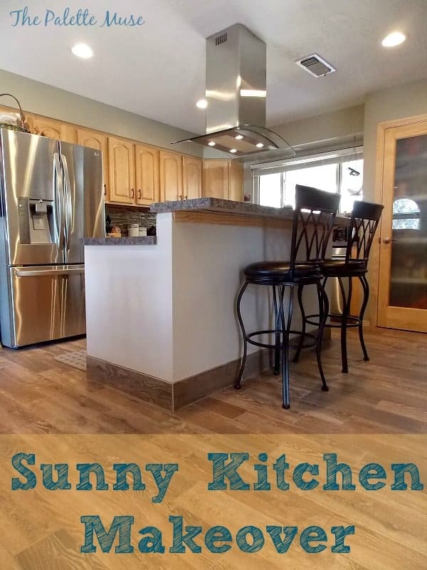 Removing a wall and rearranging the kitchen really lets the light flow through.