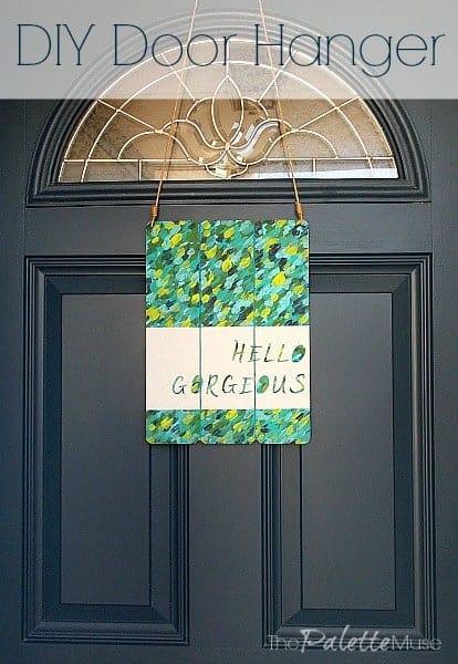 DIY Door Hanger