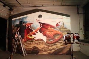 Dragon in Progress 2