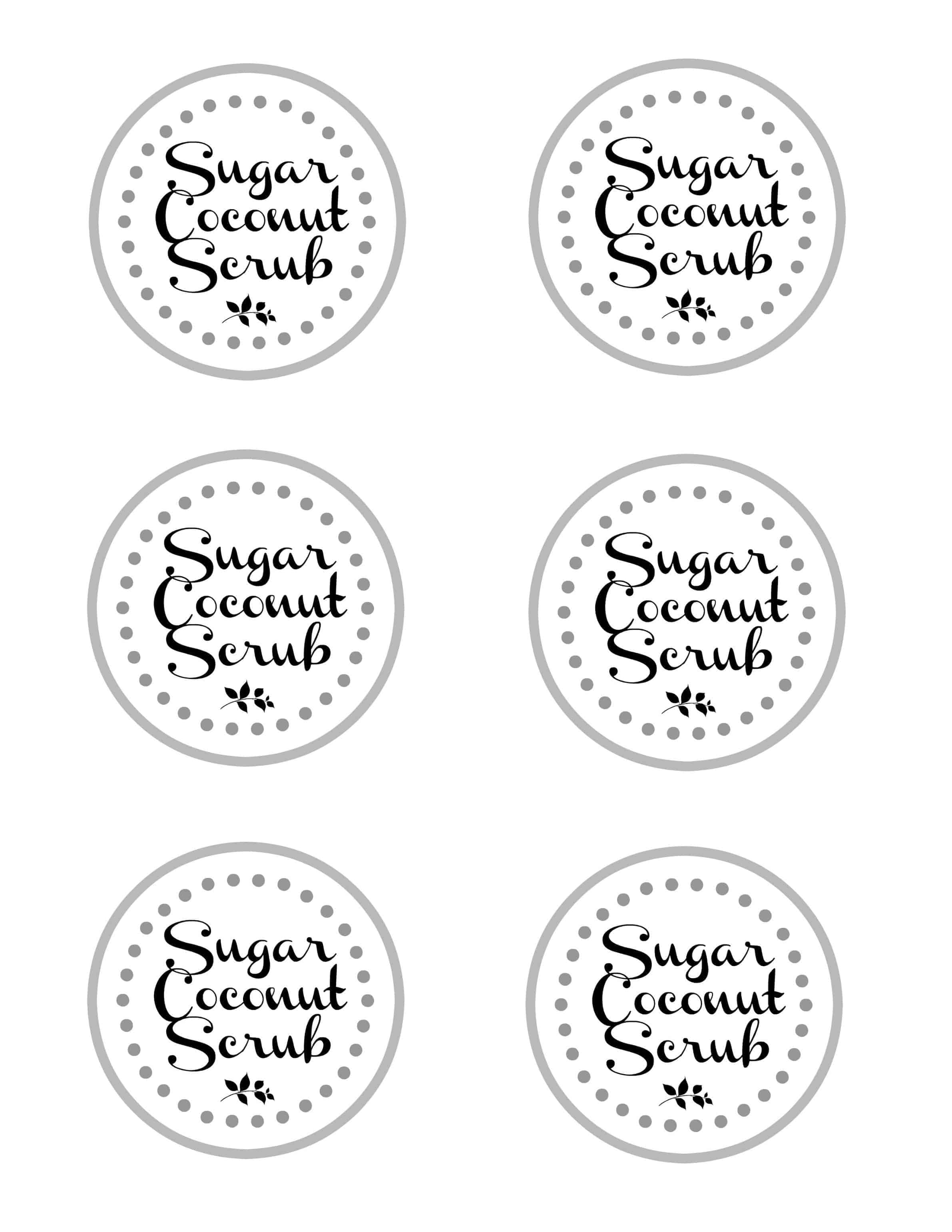 Tactueux image intended for printable sugar scrub labels