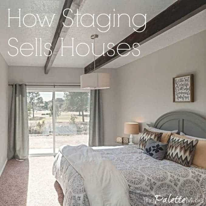 How staging sells houses.
