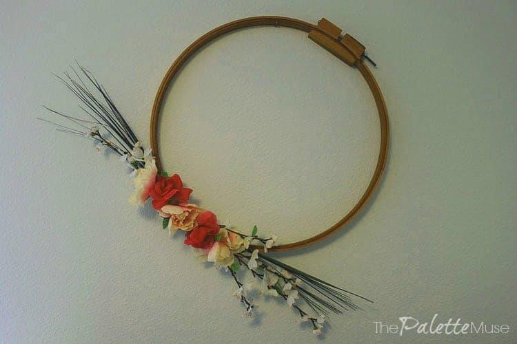 Minimalist Floral Wreath
