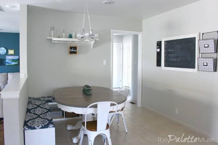 Kitchen Cabinet FAQs Wall Color is Benjamin Moor Sea Salt.