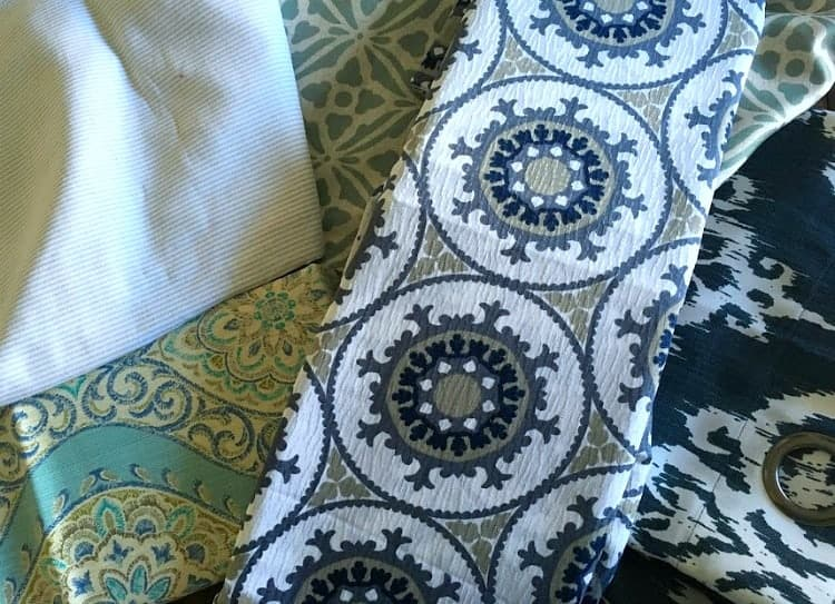 Choosing fabrics for bench seats