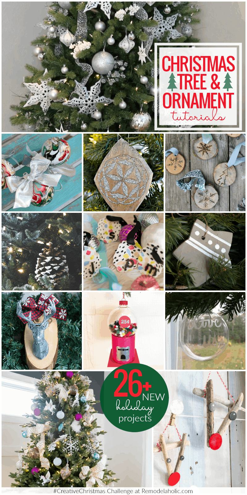 Christmas Tree Ornament Tutorials