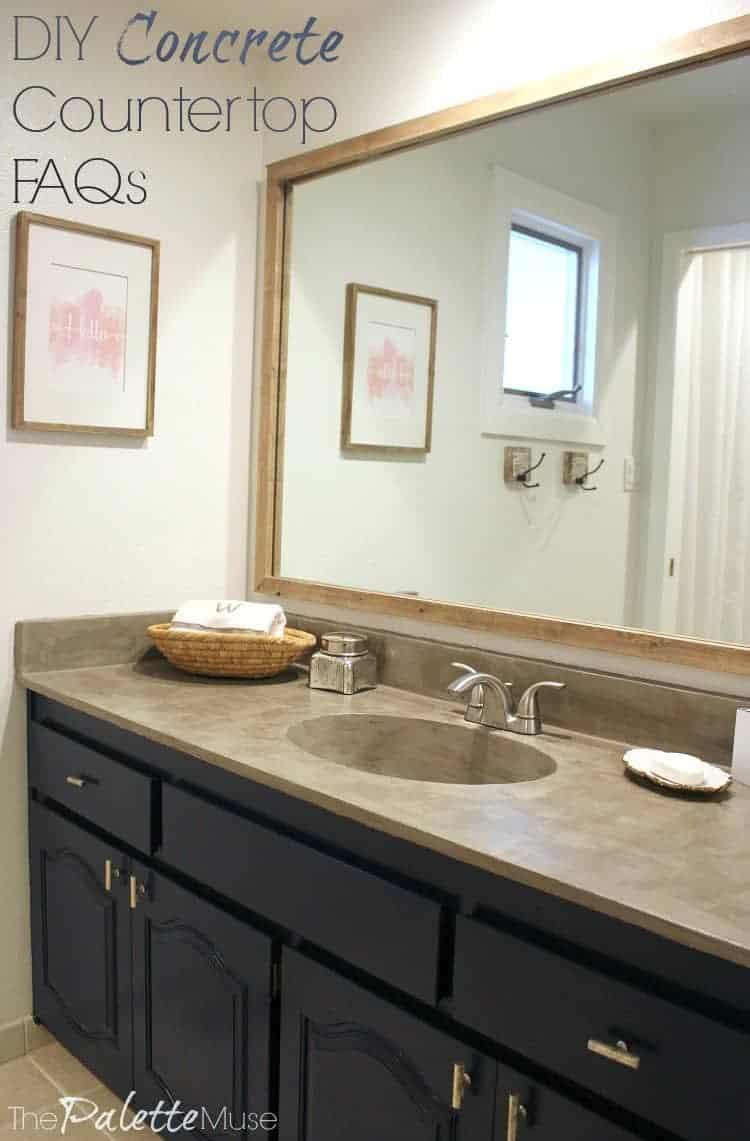 DIY concrete countertop FAQs