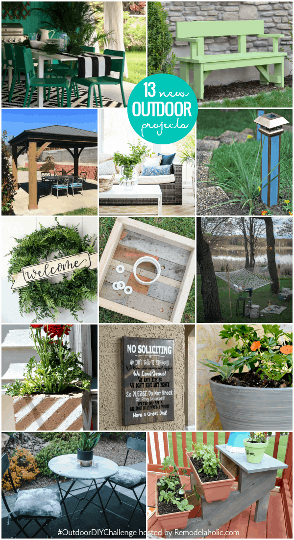 13 New Outdoor Projects