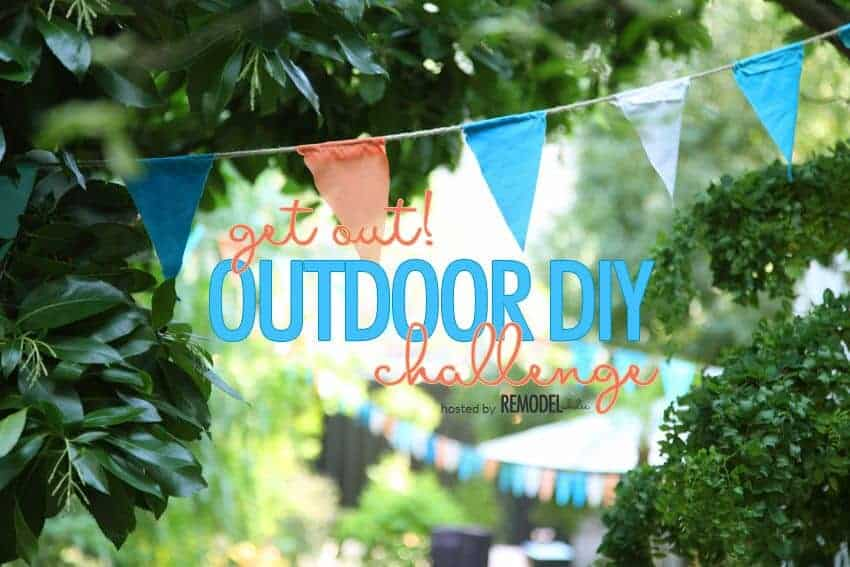 Get Out! Outdoor DIY Challenge