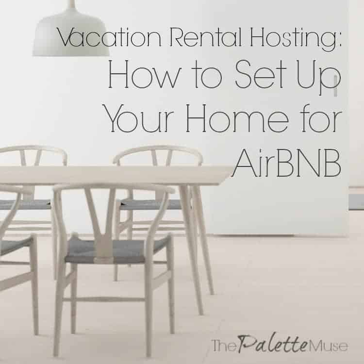 Use this checklist to set up your home as a vacation rental
