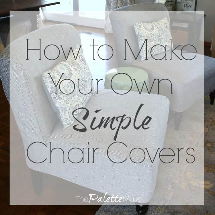 Simple Chair Covers, How To Make Chair Covers For Dining Room