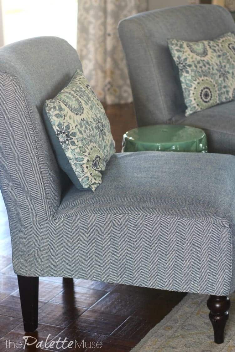 How To Make Your Own Simple Chair Covers The Palette Muse