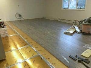 Waterproof Laminate Gold Underlayment The Palette Muse