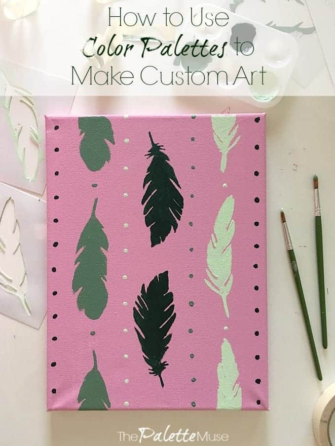 How to Use Color Palettes to Make Custom Art