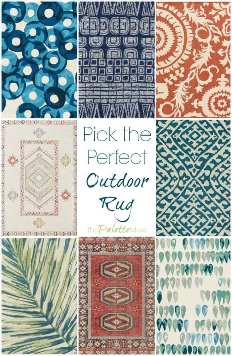 Pick the Perfect Outdoor Rug