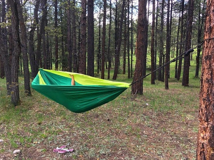 If one hammock is good, two is better!