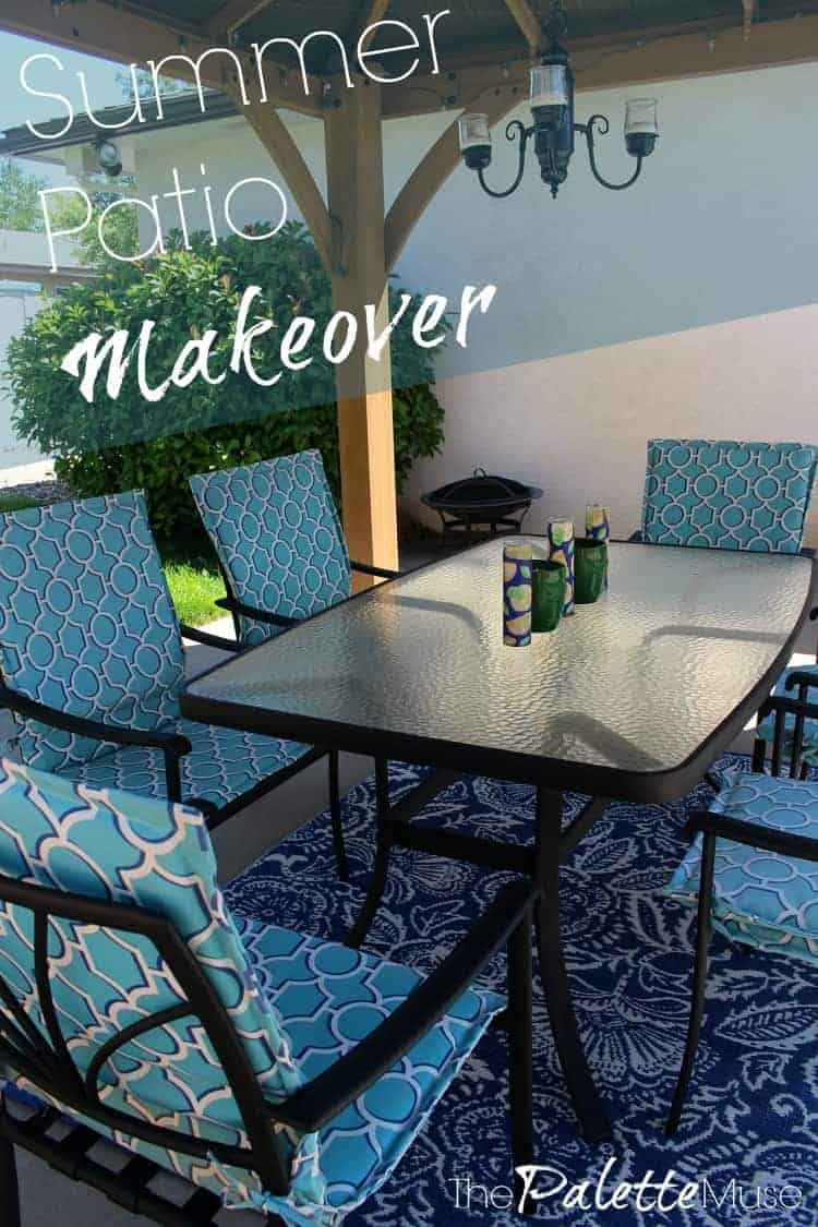 Summer Patio Makeover Reveal