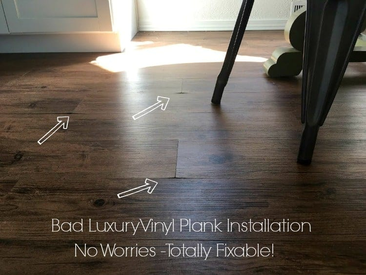 Bad LVP Install job and how to fix it