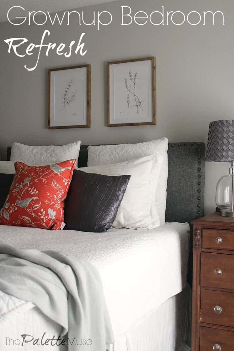 Grownup Bedroom Refresh