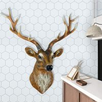 White Hexagon Wallpaper Removable Self Adhesive