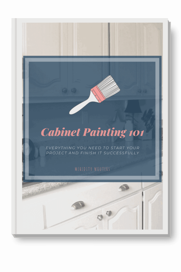 Cabinet Painting 101 eBook Mockup