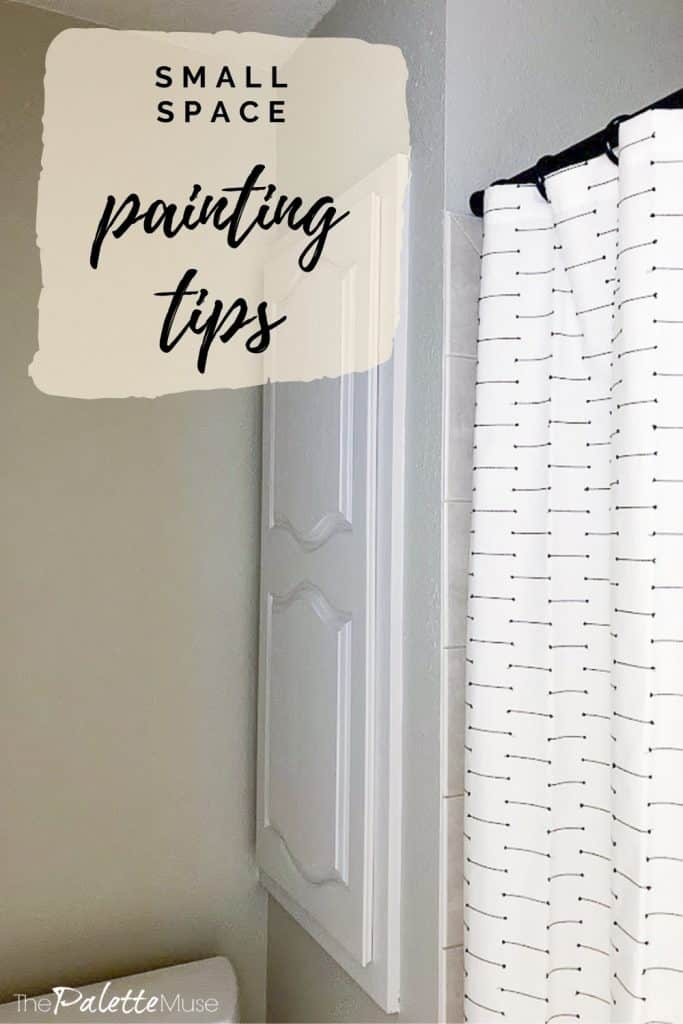 Small space painting tips