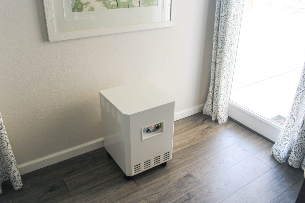 compact air purifying system from EnviroKlenz