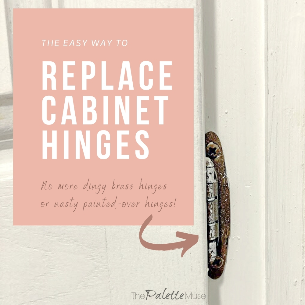 The Easy Way to Replace Cabinet Hinges